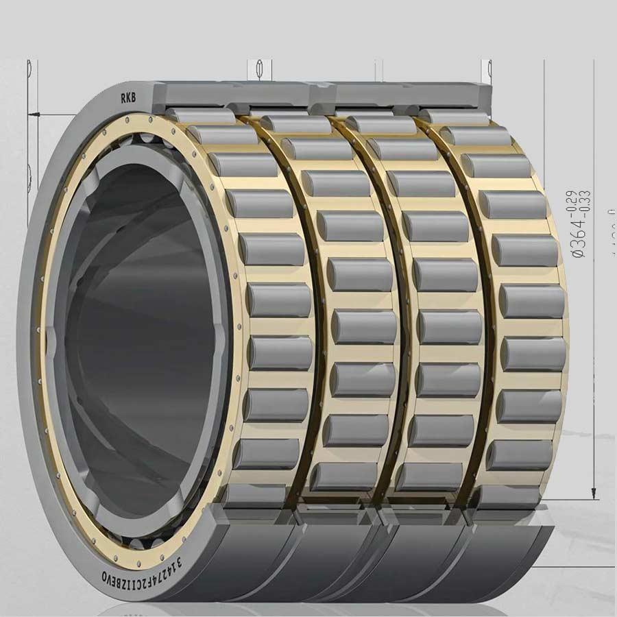 Rulment radial cu 4 randuri de role cilindrice
